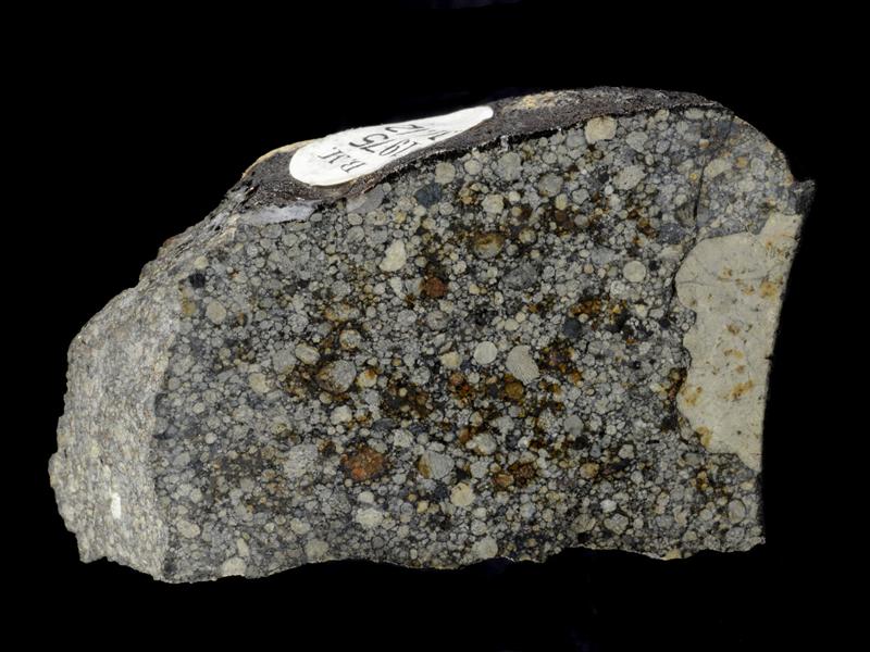 Representative Primitive Chondrite - the Bovedy meteorite