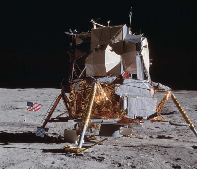Apollo 14 lunar module (courtesy of NASA)
