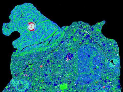 Ph, Mg, Al x-ray maps of NWA7034